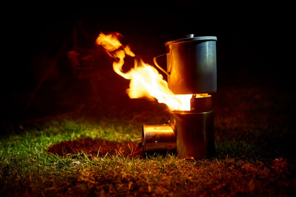 How to Make a Rocket Stove for Camping